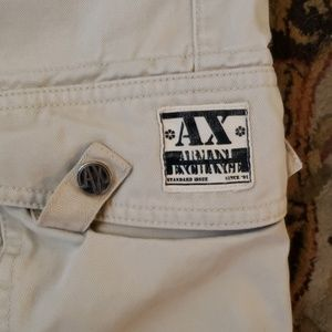Armani Exchange Shorts - AX Armani Exchange cargo shorts size 32